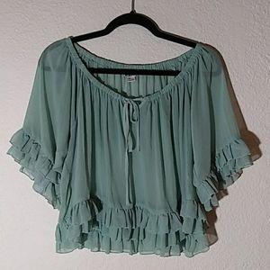 Cute flowy blouse